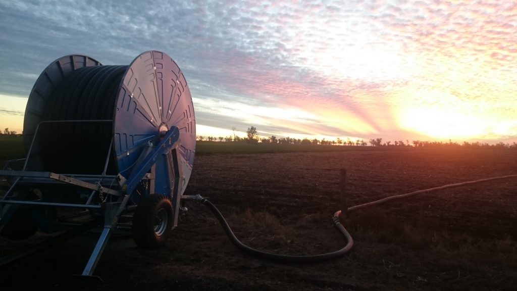 Ocmis VIR6 Hard Hose Irrigator at Tummaville